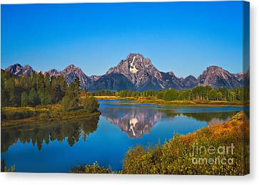 Oxbow Bend II Canvas Print by Robert Bales