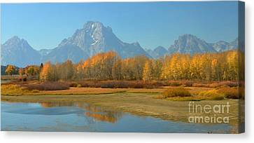 Oxbow Bend Canvas Print by Kathleen Struckle