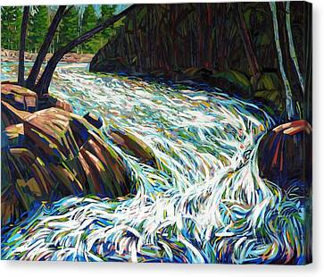 Oxtongue Rapids Revisited Canvas Print by Phil Chadwick
