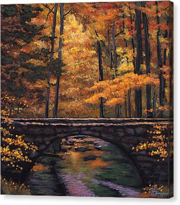 Ozark Stream Canvas Print by Johnathan Harris