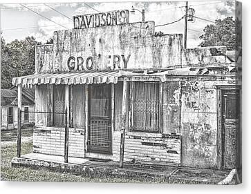 Ozark Vintage Grocery Canvas Print by Steven Bateson