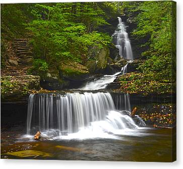 Ozone Falls Canvas Print by Frozen in Time Fine Art Photography