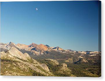 Pacific Crest Trail Mountains Canvas Print by Ashley Cooper