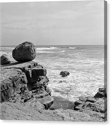 Pacific Ocean From Point Loma Canvas Print by Tanya Harrison