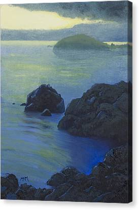 Pacific Sunset Northern California  Canvas Print by Garry McMichael