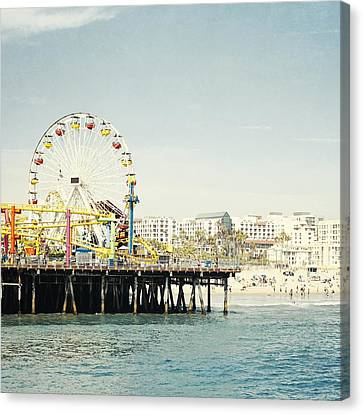 Pacific Wheel  Canvas Print by Bree Madden