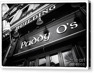 Paddy O's Canvas Print by John Rizzuto
