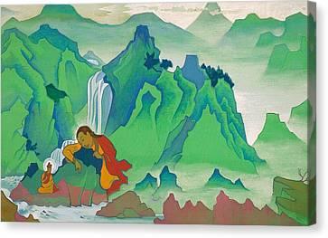 Padma Sambhava Canvas Print by Nicholas Roerich