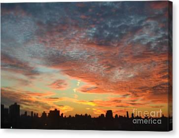 Painted Sky Canvas Print by Robert Daniels