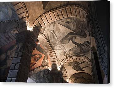 Painted Vaults Canvas Print by Lynn Palmer