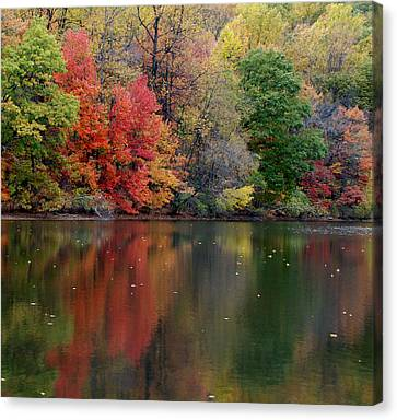 Painted Water Canvas Print by Richard Bryce and Family