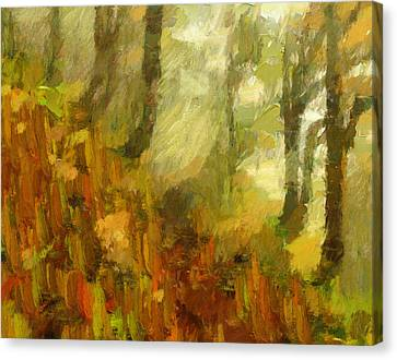 Painting Autumn Canvas Print by Georgiana Romanovna