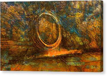 Painting With Fury Canvas Print by Dan Sproul