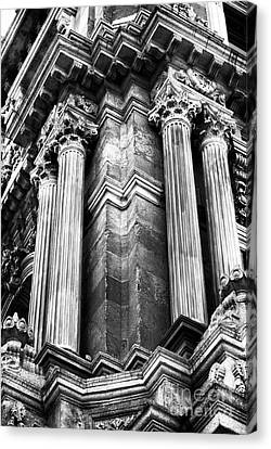 Palace Columns Canvas Print by John Rizzuto