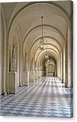 Palace Corridor Canvas Print by Ann Horn