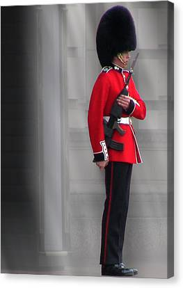 Palace Guard Canvas Print by William Howard