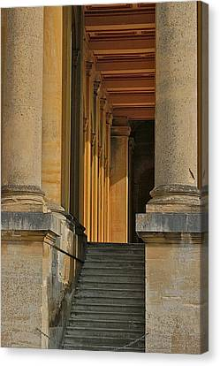 Palace Step Canvas Print by Joseph Yarbrough