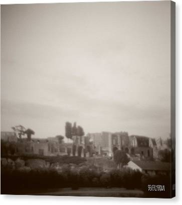 Palatine Hill And Forum Canvas Print by Beverly Brown