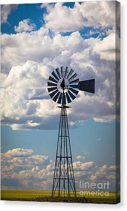 Palouse Windmill Canvas Print by Inge Johnsson