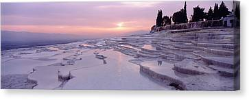 Pamukkale Turkey Canvas Print by Panoramic Images