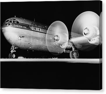 Pan American Boeing 377 Canvas Print by Underwood Archives