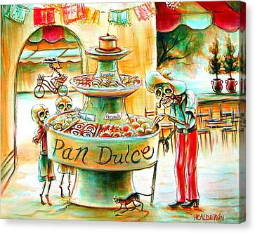 Pan Dulce Canvas Print by Heather Calderon
