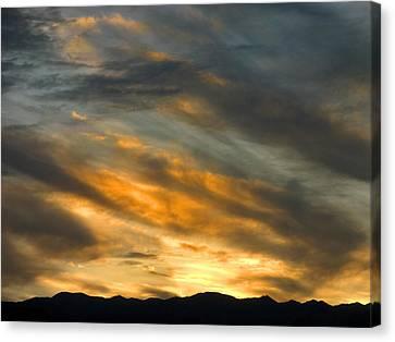Panamint Sunset Canvas Print by Joe Schofield