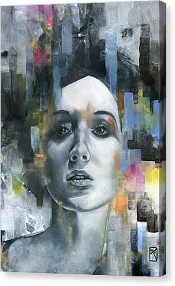 Pandora Canvas Print by Patricia Ariel