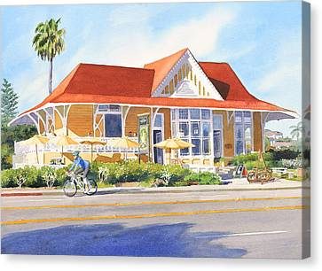 Pannikin Encinitas Canvas Print by Mary Helmreich