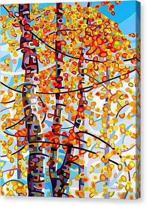 Panoply Canvas Print by Mandy Budan