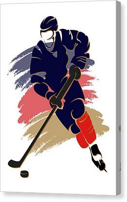Panthers Shadow Player2 Canvas Print by Joe Hamilton