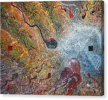 Parable Of Anagenneo Canvas Print by Craig Dykstra