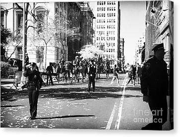 Parade Route 1990s Canvas Print by John Rizzuto