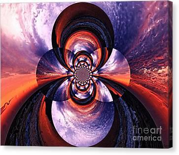 Paradigm Shift Canvas Print by Roz Abellera Art
