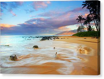 Paradise Dawn Canvas Print by Mike  Dawson