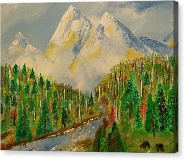 Paradise Canvas Print by Harold Greer