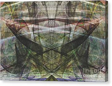 Parallel Universe 20130615v2 Canvas Print by Wingsdomain Art and Photography