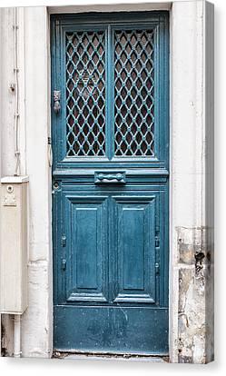 Paris Blue Canvas Print by Georgia Fowler