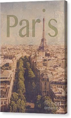 Paris Canvas Print by Diane Diederich