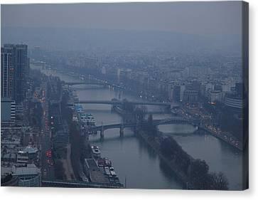 Paris France - Eiffel Tower - 011316 Canvas Print by DC Photographer