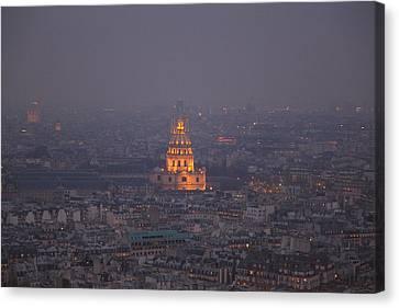 Paris France - Eiffel Tower - 011320 Canvas Print by DC Photographer