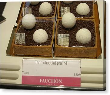 Paris France - Pastries - 1212100 Canvas Print by DC Photographer