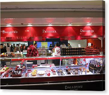 Paris France - Pastries - 1212135 Canvas Print by DC Photographer