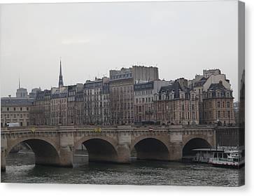 Paris France - Street Scenes - 011343 Canvas Print by DC Photographer