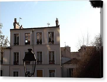 Paris France - Street Scenes - 01137 Canvas Print by DC Photographer