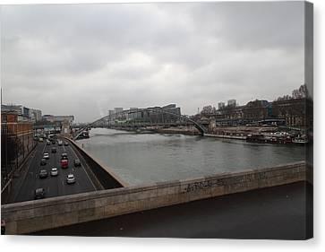 Paris France - Street Scenes - 011386 Canvas Print by DC Photographer