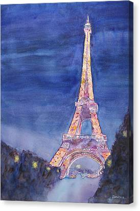 Paris Giant Canvas Print by Jenny Armitage