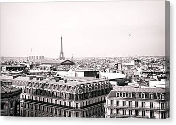 Paris In The Afternoon Canvas Print by Vivienne Gucwa
