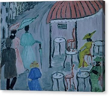 Paris Canvas Print by Inge Lewis