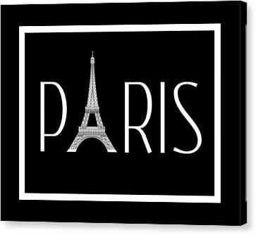 Paris Canvas Print by Jaime Friedman